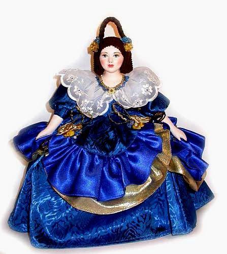 Марина кукла на чайник