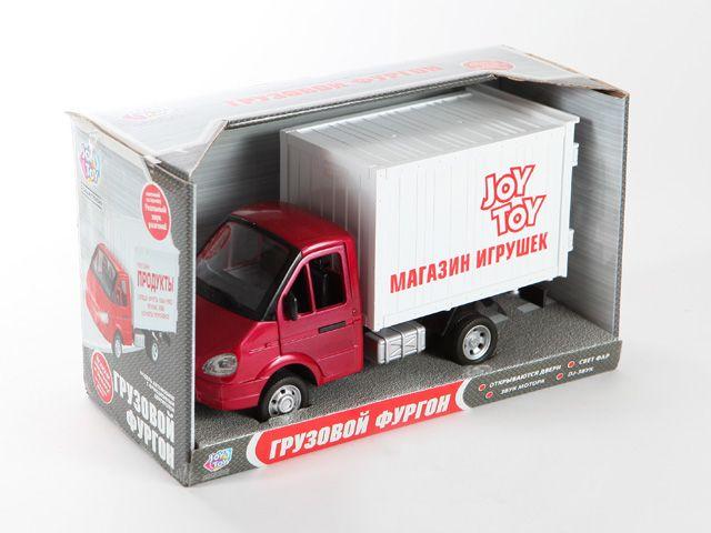 Машина 1:27 Газель Грузовой фургон Магазин игрушек
