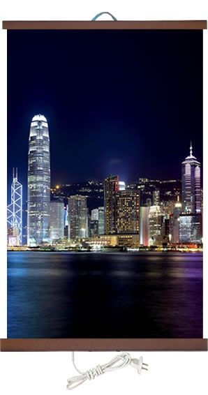 Обогреватель картина Гонконг 400 Вт