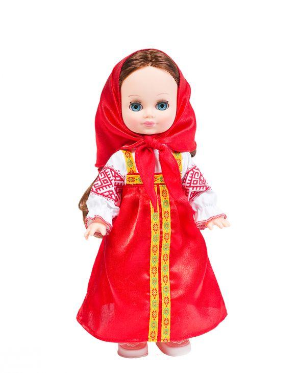 Элла Весна в русском костюме