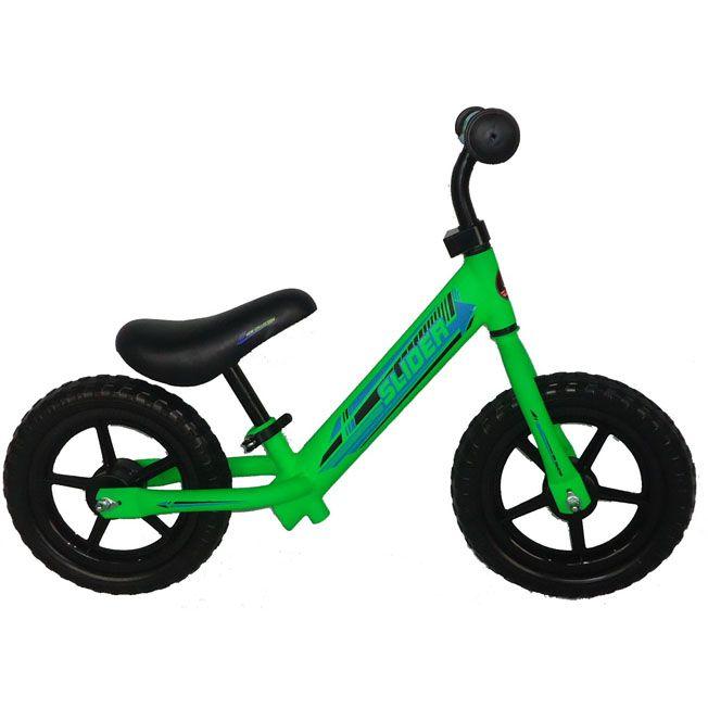 """Беговел 12"""" Slider IT101770 зеленый"""
