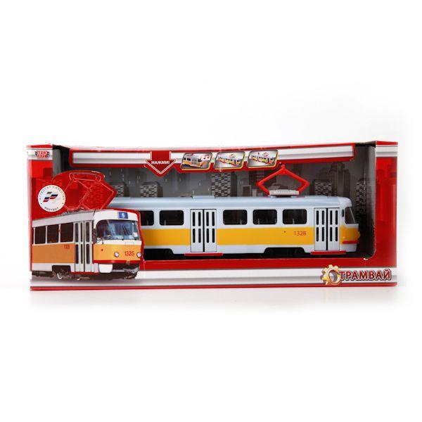 Модель Трамвай Технопарк 600-36002XHR