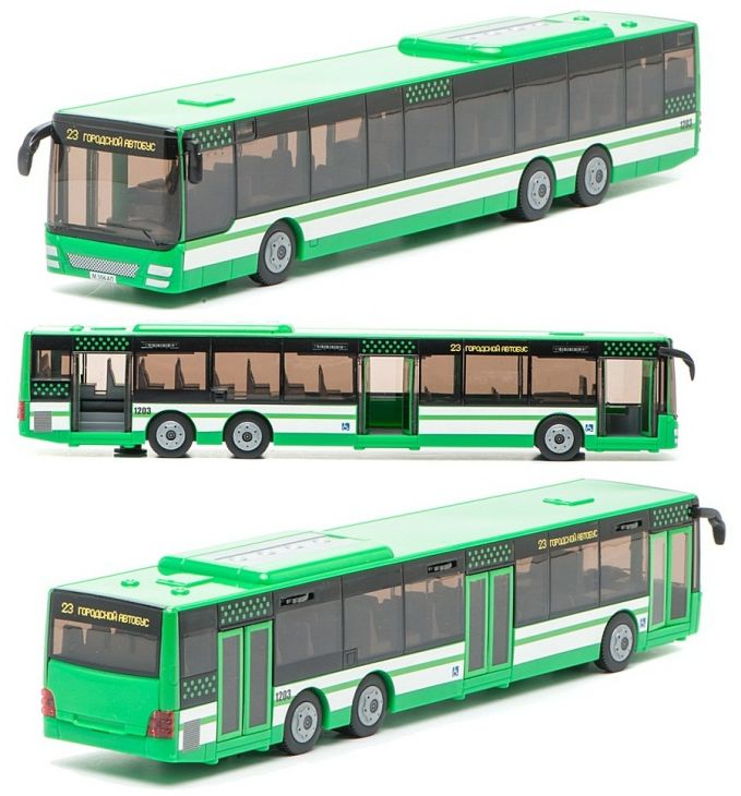 Модель городской автобус Технопарк 13101В