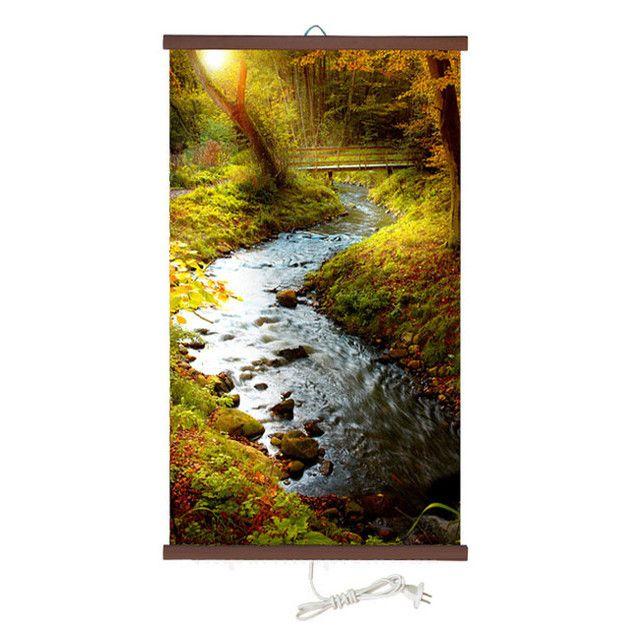 Обогреватель картина Речка в лесу 400 Вт