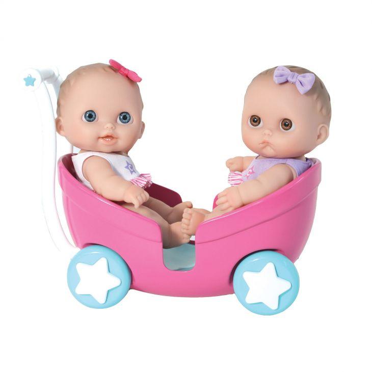 Пупсы в коляске Twins
